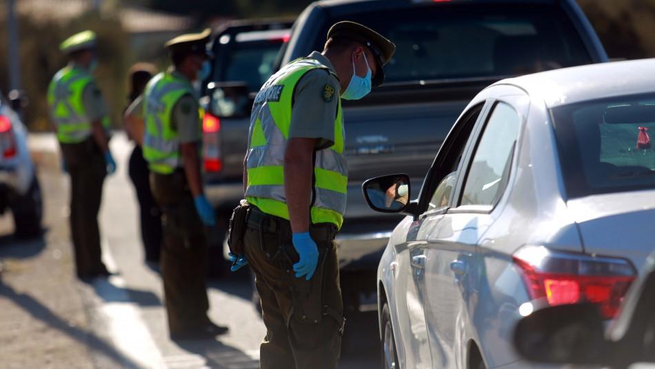 Intentaban ingresar a Valparaíso: Más de 20 mil vehículos fueron devueltos esta semana a la RM