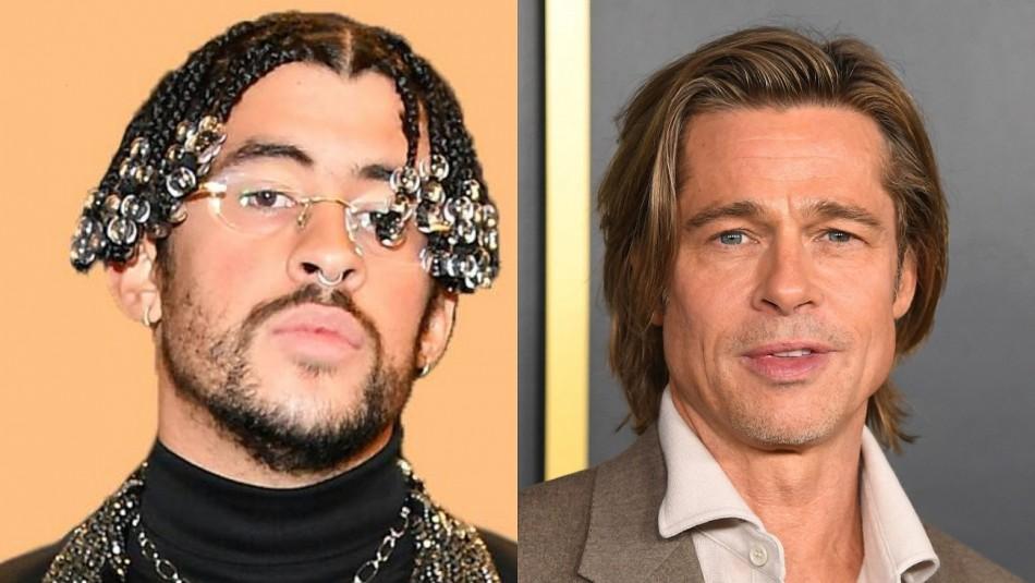 Bad Bunny será parte de una película de acción junto a Brad Pitt