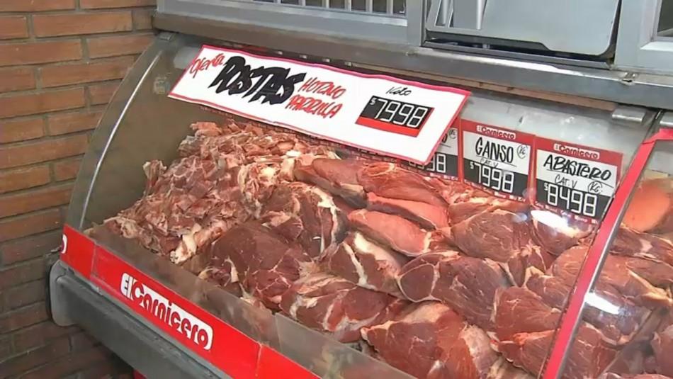 Precio de la carne sube hasta un 40% justo antes de las fiestas de fin de año