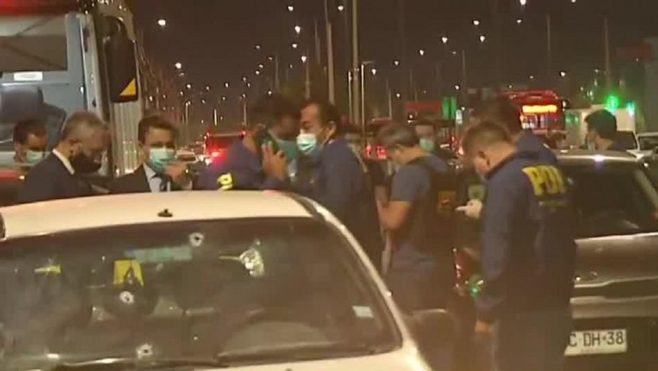 Dos sujetos mueren baleados en enfrentamiento con la PDI en Cerrillos