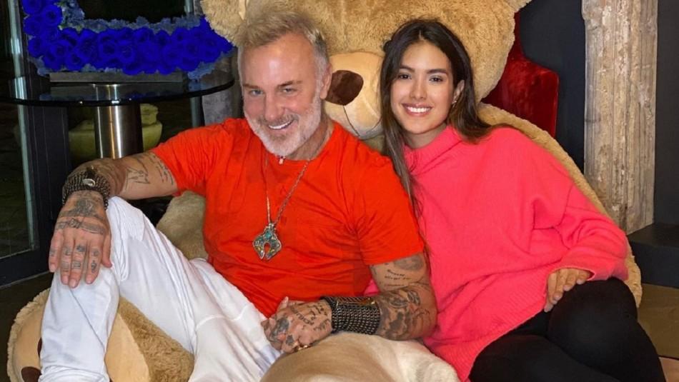 Sharon Fonseca sobre relación entre su hija con Gianluca Vacchi y su mascota: