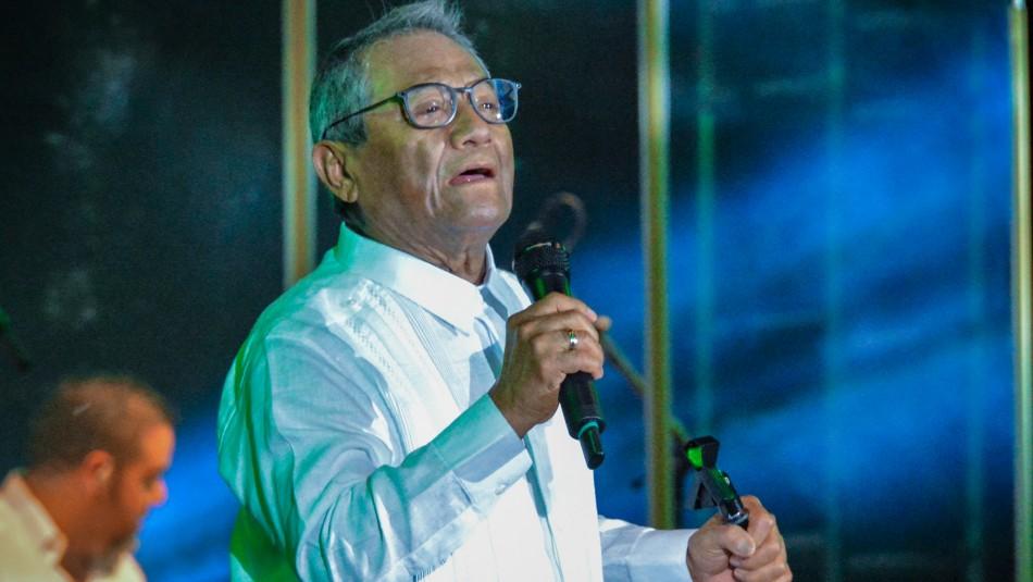 Armando Manzanero es intubado tras contagiarse de Covid a sus 85 años