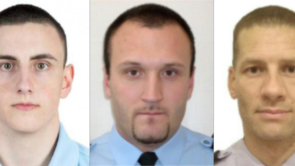 Matan a tres gendarmes que socorrían a mujer víctima de violencia intrafamiliar
