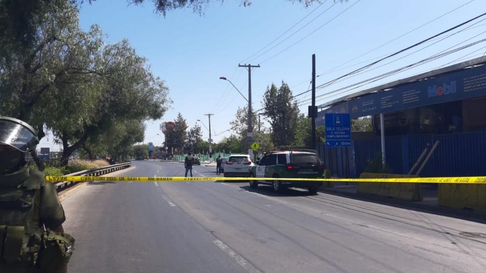 Baleo en Plaza de Maipú: Encuentran vehículo involucrado y detienen a su conductor