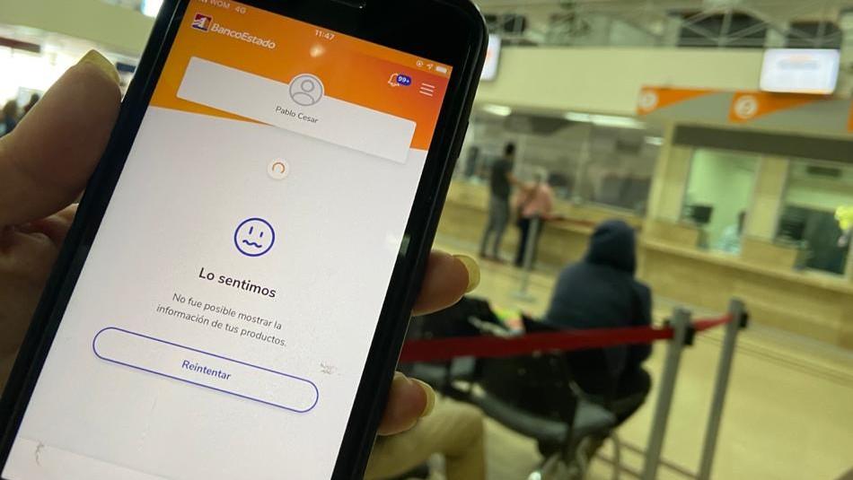 Usuarios de BancoEstado reportan problemas con la aplicación móvil