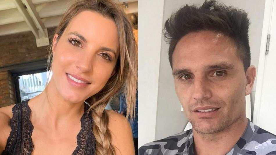 Lucila Vit y Rafael Olarra intercambiaron románticos mensajes tras confirmar su relación