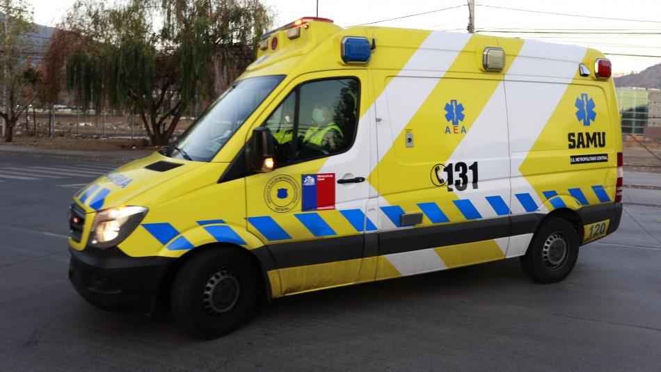 Atacan a dos paramédicos tras choque de ambulancia en Cañete