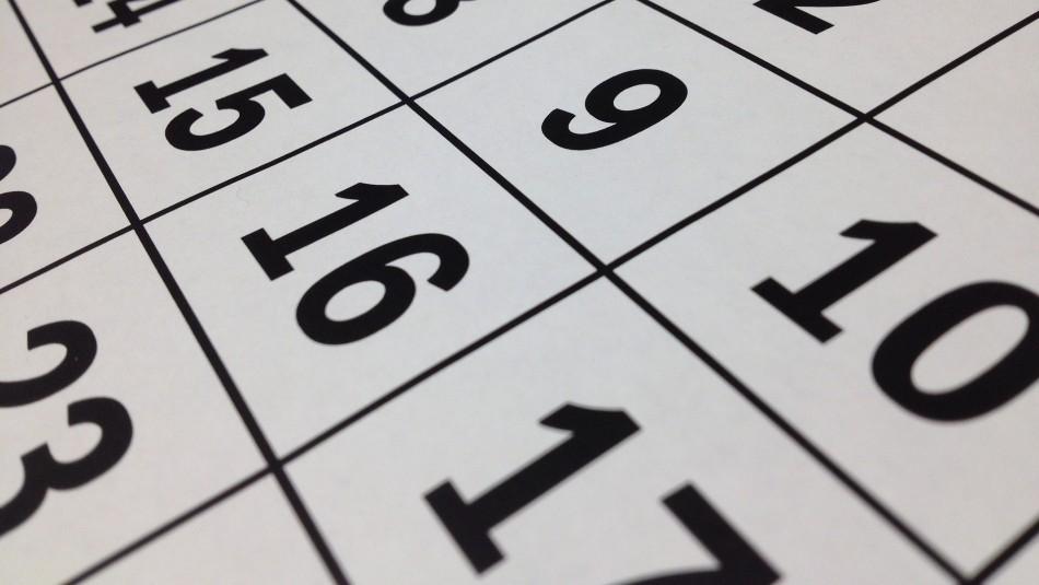 Conoce el calendario completo de días feriados del año 2021