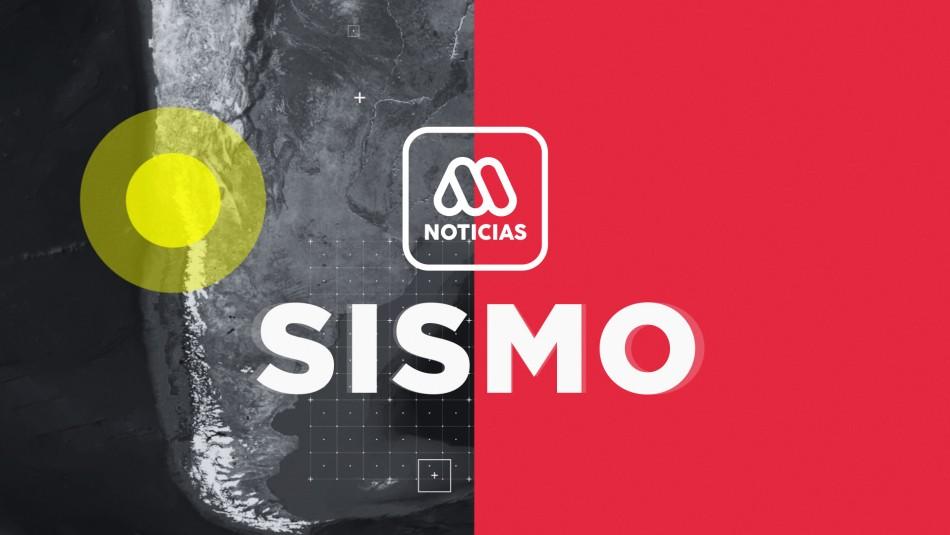 Fuerte temblor se registra en la zona sur de Chile
