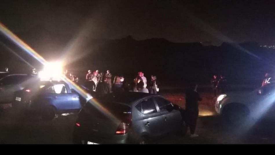 Antofagasta: 41 personas fueron detenidas por consumir alcohol e infringir el toque de queda