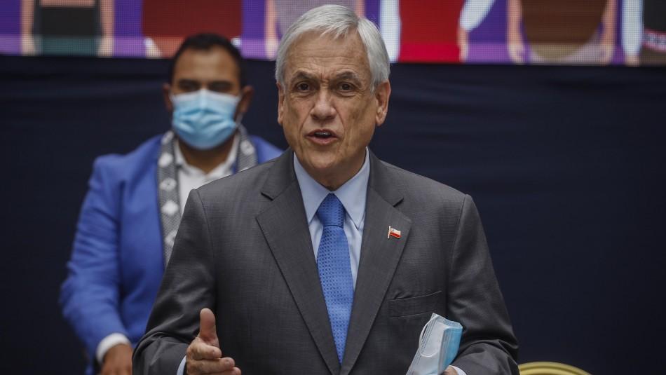 Cadem: Presidente Piñera alcanza un 17% de aprobación en semana marcada por llegada de vacunas