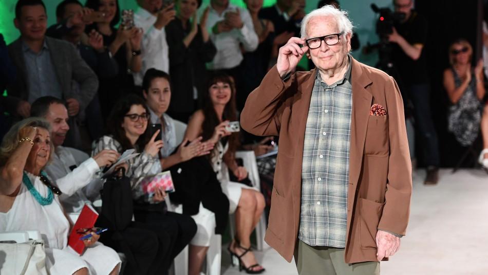 Diseñador de moda francés Pierre Cardin muere a los 98 años