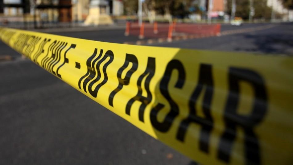 Hombre fue seguido y luego asesinado a metros de su casa en Cerrillos