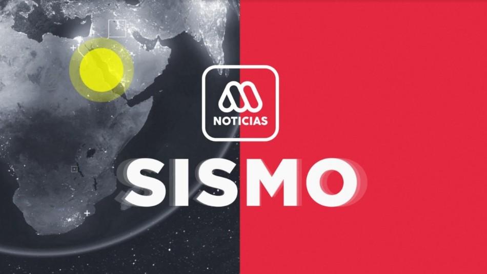 SHOA descarta tsunami para Chile tras sismo 6.2 en Croacia