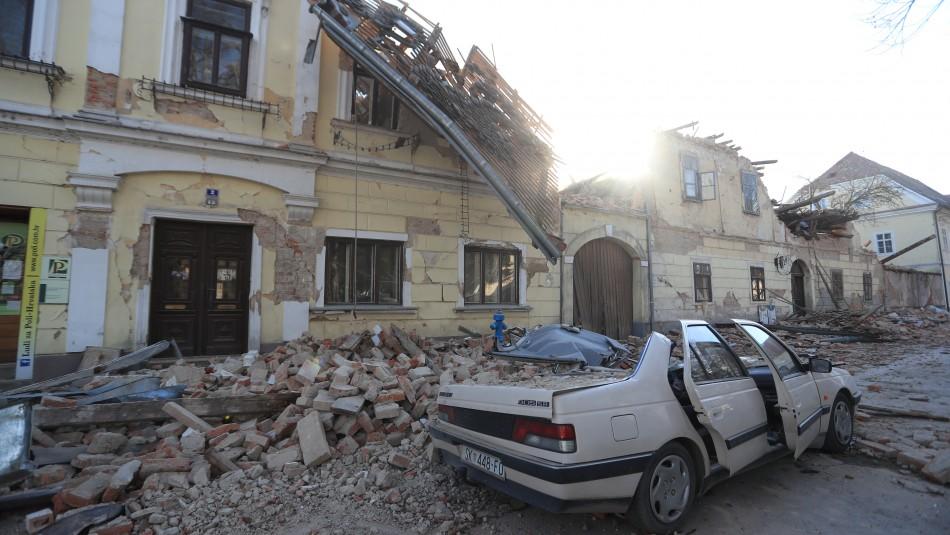 Una niña muere por terremoto que afectó a Croacia
