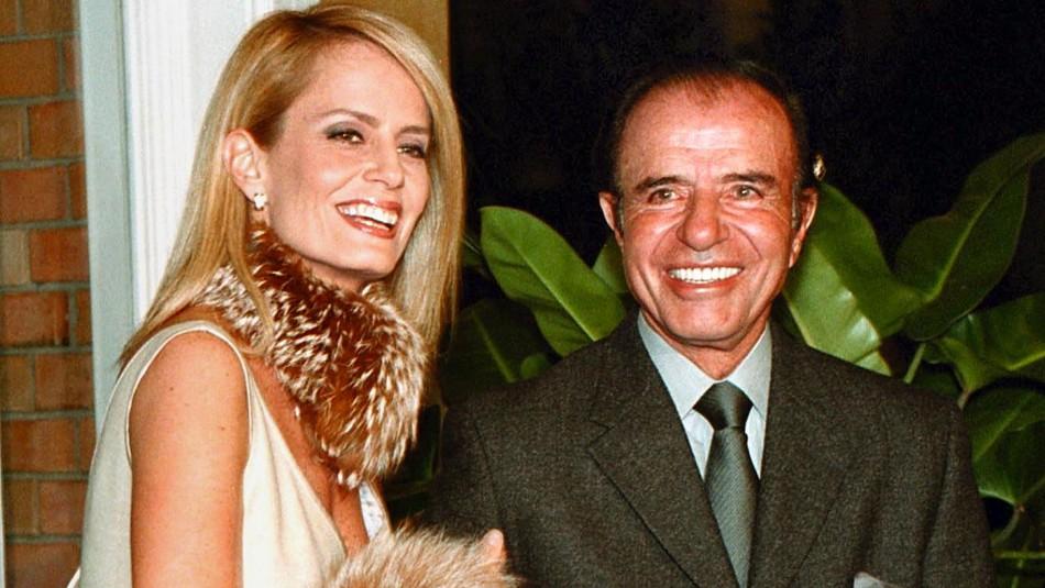 Cecilia Bolocco revela que Carlos Menem