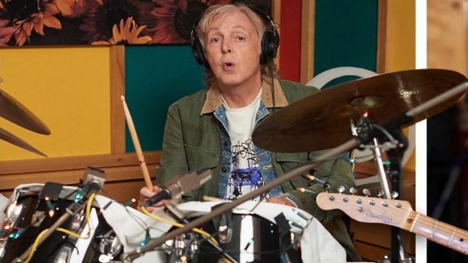 Paul McCartney asegura que habla con el espíritu de George Harrison