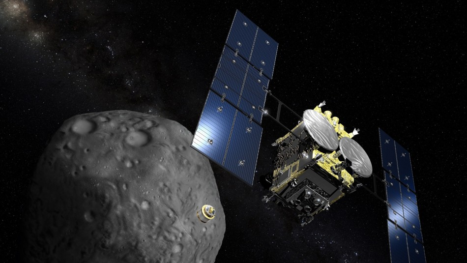 Misión Hayabusa 2: Encuentran objeto artificial entre las muestras del asteroide Ryugu
