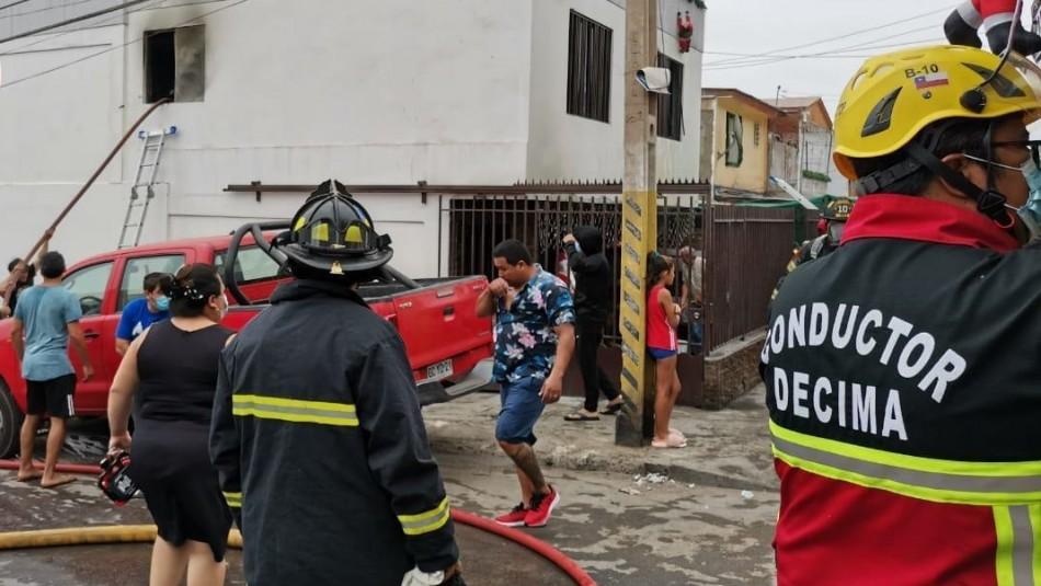 Niño de 4 años muere y su hermana se encuentra grave a raíz de incendio que afectó a su casa