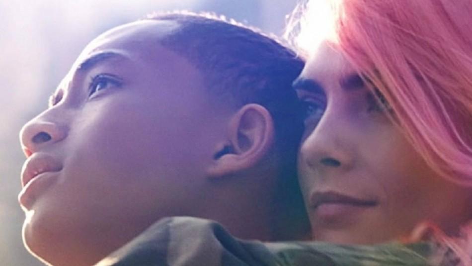 Nueva película de Jaden Smith junto a Cara Delevingne es mal evaluada por el público