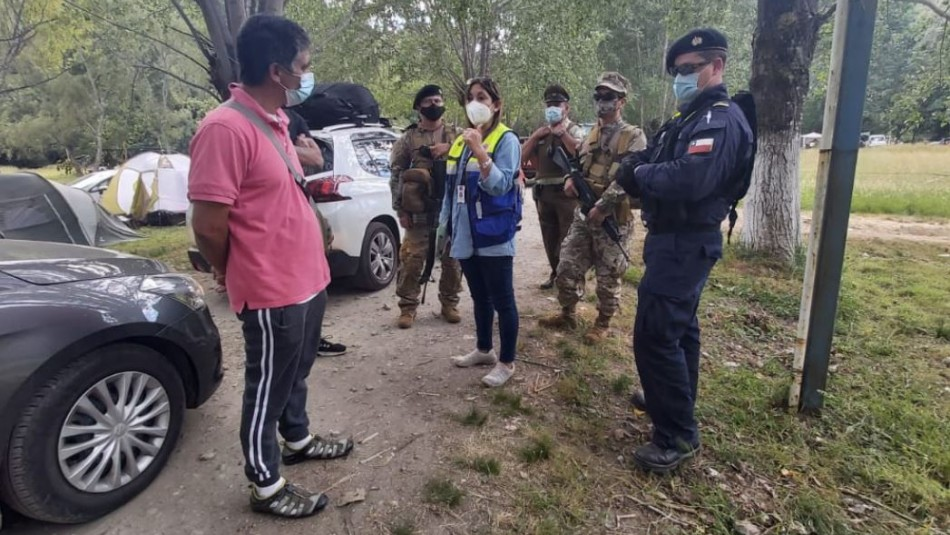 No paran: Cerca de 700 personas fueron sorprendidas en camping Chivilingo de Lota