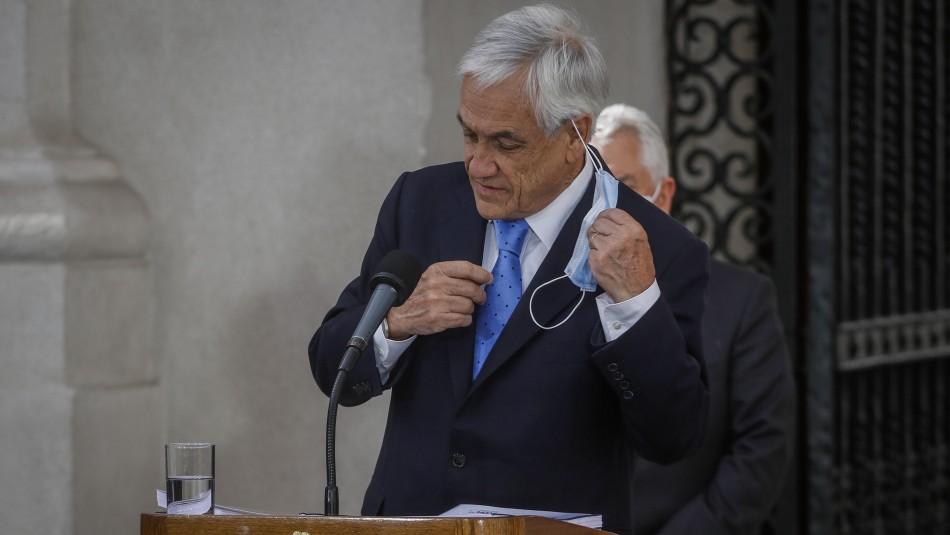 Encuesta Cadem: Presidente Piñera cierra el año 2020 con 17% de aprobación