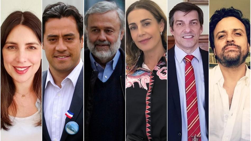 Los famosos que buscan ser constituyentes: Este lunes finaliza el plazo de inscripción