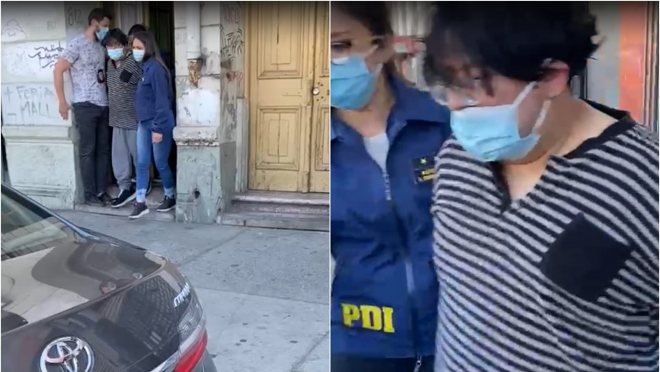 Revelan primeras imágenes de la detención de acusado del femicidio de María Isabel Pavez