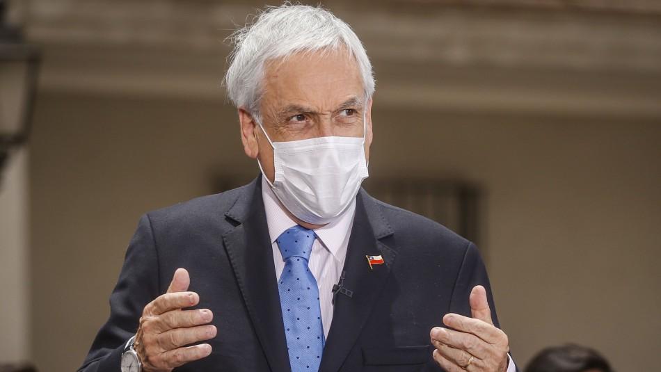 Piñera y agenda antirrepresión: