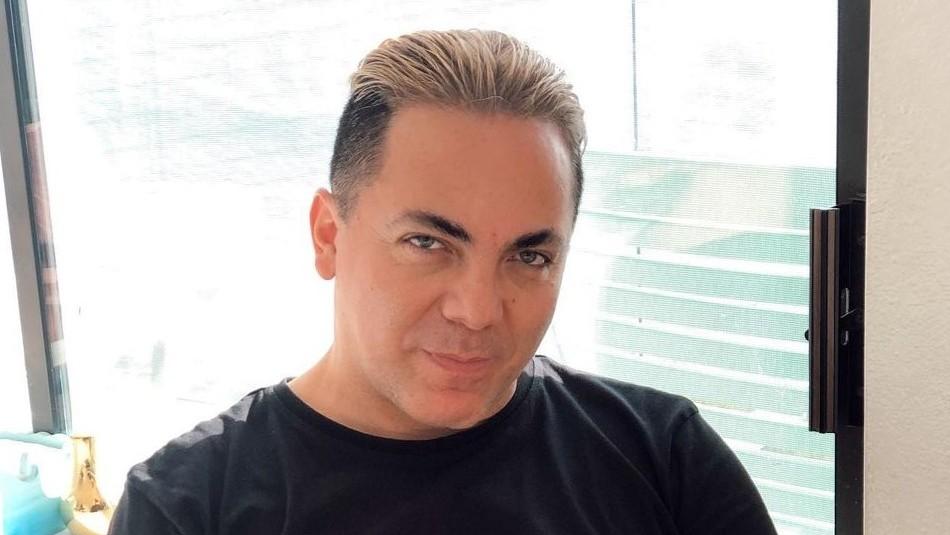 Cristian Castro presenta a su nueva novia y no es la
