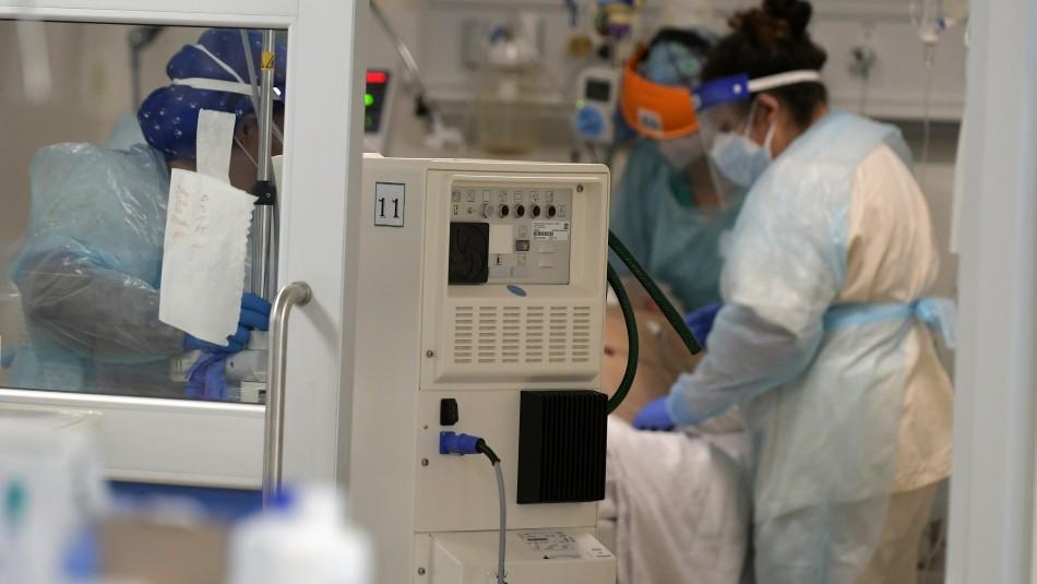 Sochimi por ocupación de unidades críticas: En algunos hospitales supera el 90% o 95%