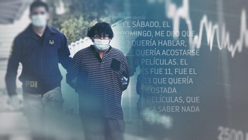 Revelan audios del presunto asesino de María Isabel Pavez.