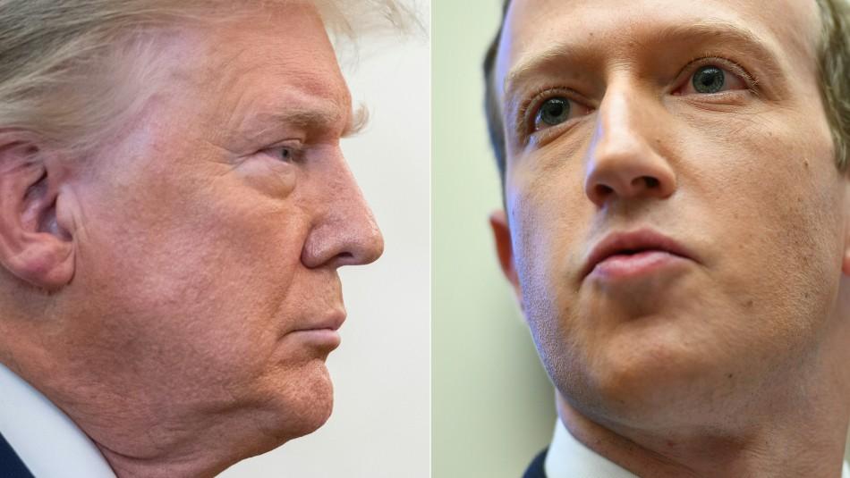 Facebook bloquea indefinidamente la cuenta de Donald Trump