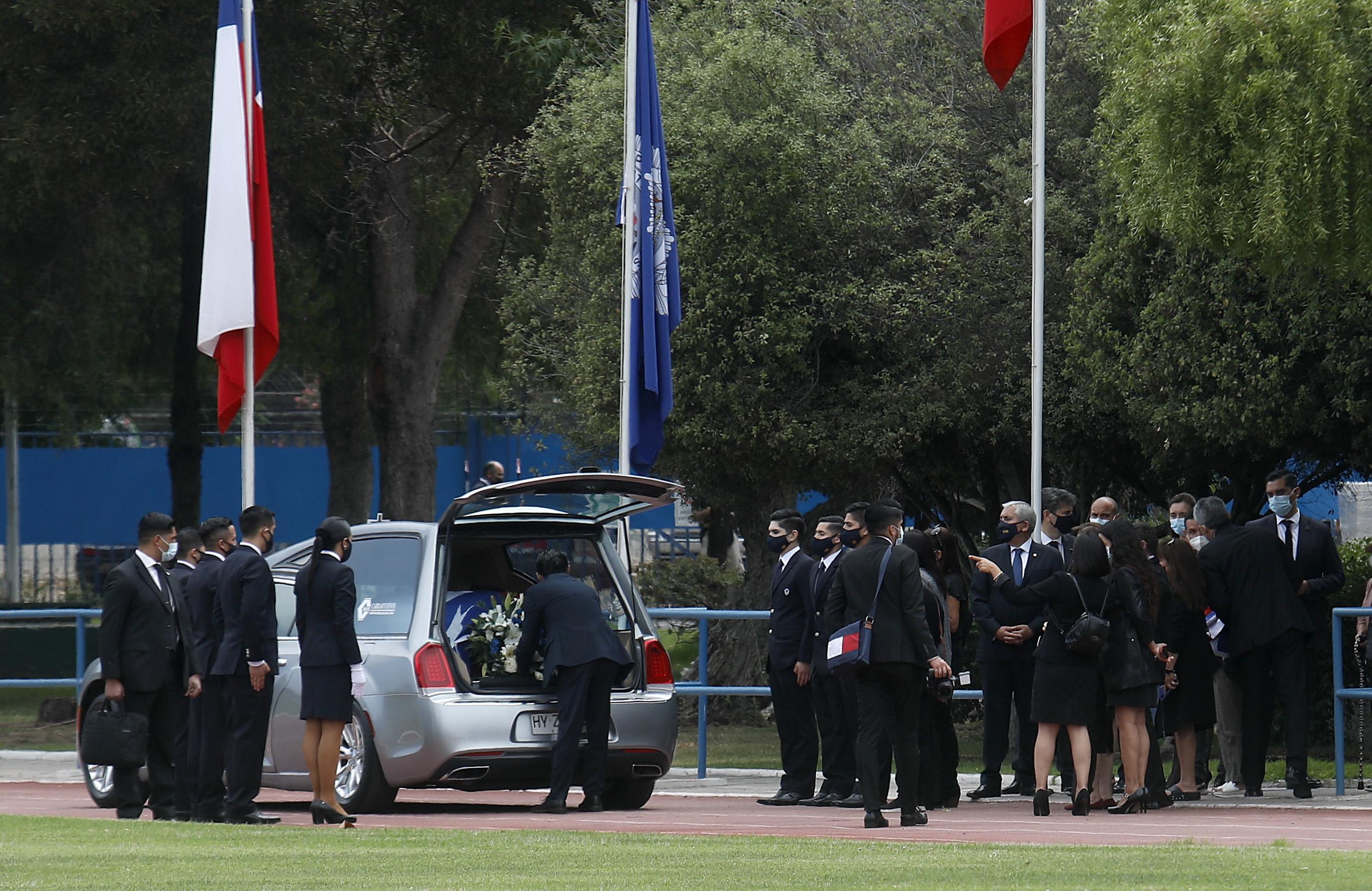 Misa fúnebre de funcionario de la PDI