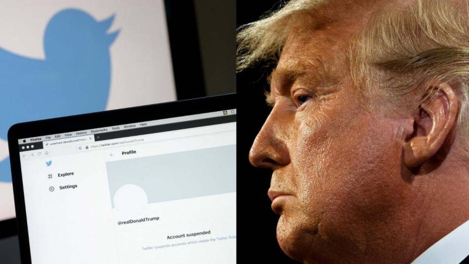 Twitter suspende cuenta personal de Donald Trump y bloquea intento de usar cuenta presidencial
