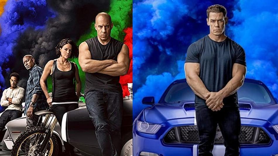 Foto de Vin Diesel y John Cena en