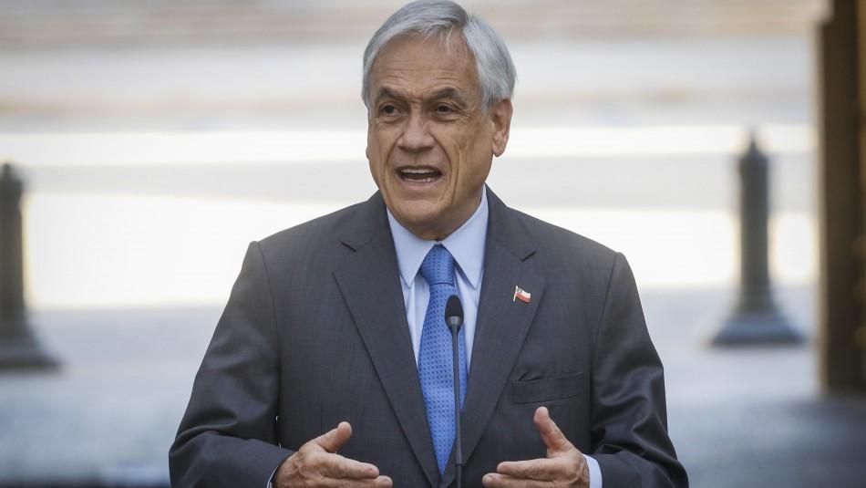 Cadem: Aprobación del Presidente Piñera aumenta levemente y llega a 18%