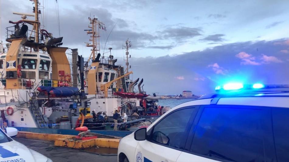 Trabajador muere ahogado en el Estrecho de Magallanes tras caer desde muelle