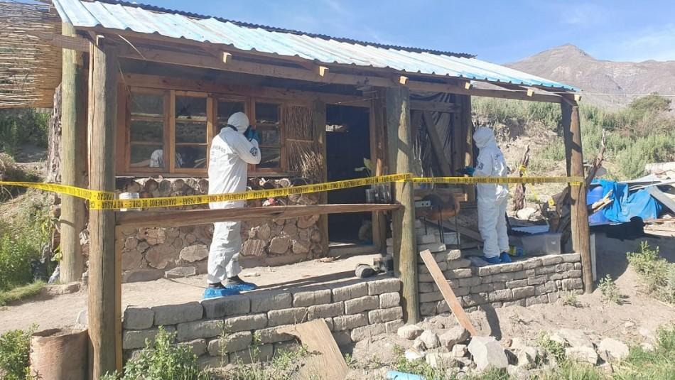 Detienen a hombre que habría dado muerte a su pareja y su hijo de 4 años en el norte de Chile