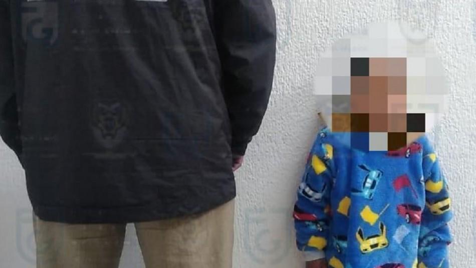 Padrastro amordazó y amarró a niño de 4 años: Pedía recompensa para liberarlo
