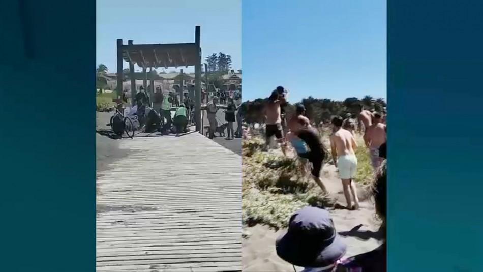 Veraneantes agreden a Carabineros en Pichilemu tras detenciones por tráfico de drogas
