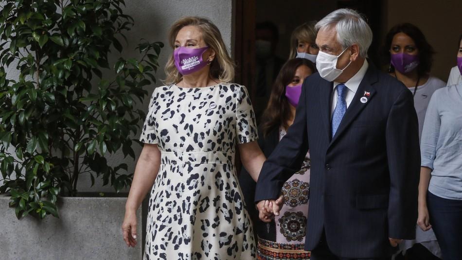 Piñera y Morel inician cuarentena preventiva por contacto estrecho de contagiado con coronavirus