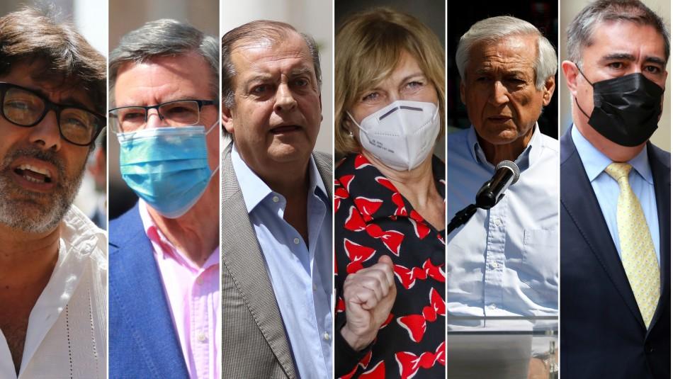 Carrera Presidencial: Los candidatos confirmados y los que suenan para llegar a La Moneda
