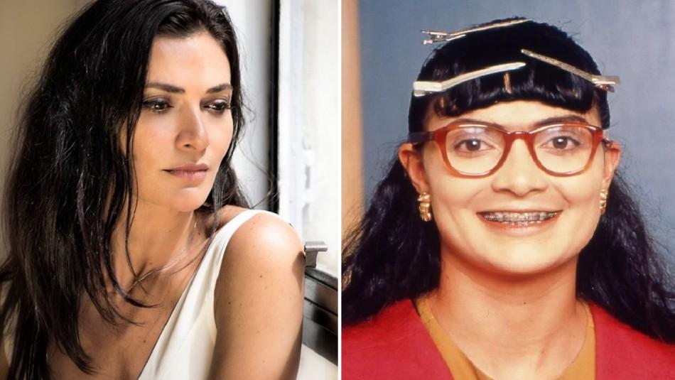 Así era la transformación de Ana María Orozco para convertirse en