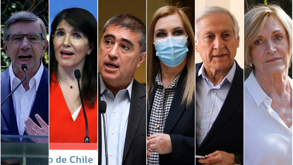 Tras anuncio de Narváez: Los confirmados y los que suenan como candidatos presidenciales