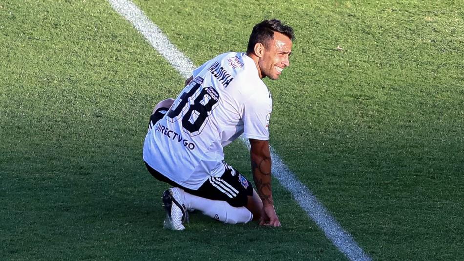 Lesión de Valdivia obliga a Colo Colo a jugar sin volantes creativos ante la U. de Concepción