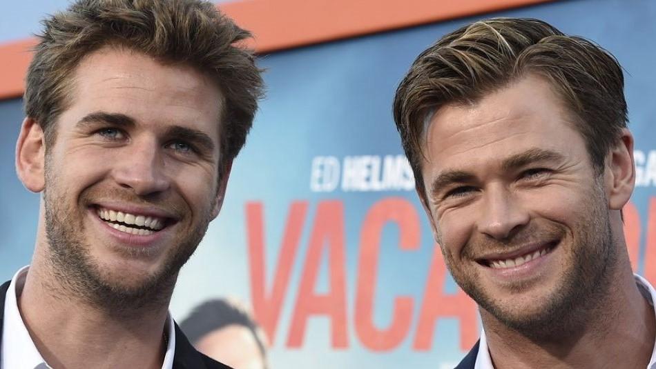 Así era Thor cuando niño: La foto de Chris Hemsworth para felicitar a su hermano