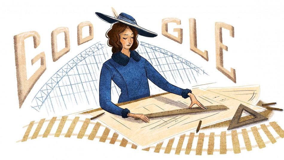 Google homenajea a Justicia Espada Acuña, la primera ingeniera civil del país