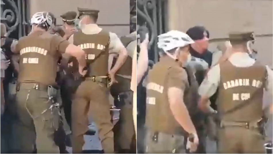 Detienen a sujeto que disparó en medio de manifestación en Paseo Ahumada