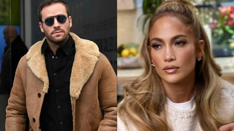 Armie Hammer rompe su silencio sobre mensajes filtrados y abandona película con Jennifer Lopez
